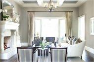 Stylish coastal living room decoration ideas 26