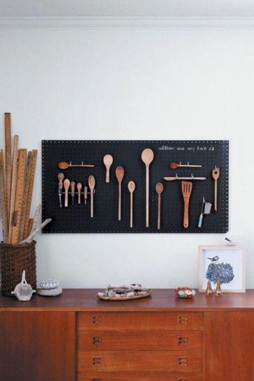 Unique practical chalkboard decor ideas for your kitchen 07