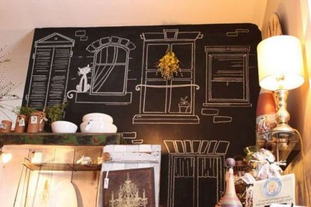 Unique practical chalkboard decor ideas for your kitchen 11