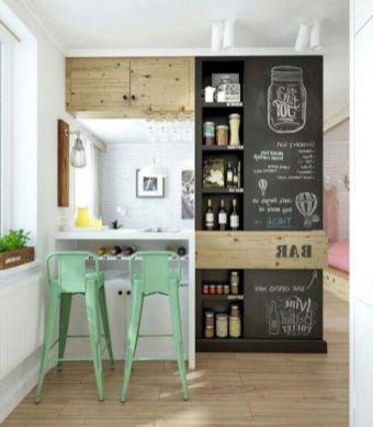 Unique practical chalkboard decor ideas for your kitchen 17