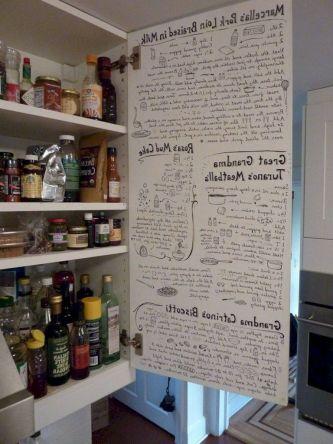 Unique practical chalkboard decor ideas for your kitchen 18