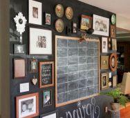 Unique practical chalkboard decor ideas for your kitchen 25