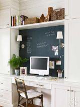 Unique practical chalkboard decor ideas for your kitchen 34
