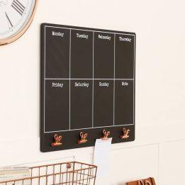 Unique practical chalkboard decor ideas for your kitchen 37