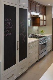 Unique practical chalkboard decor ideas for your kitchen 42