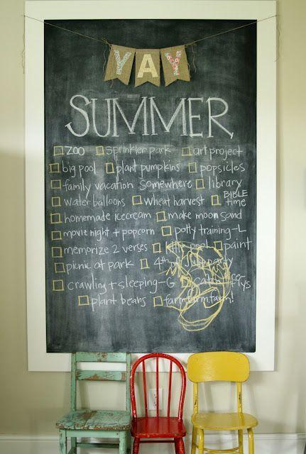 Unique practical chalkboard decor ideas for your kitchen 43 ...