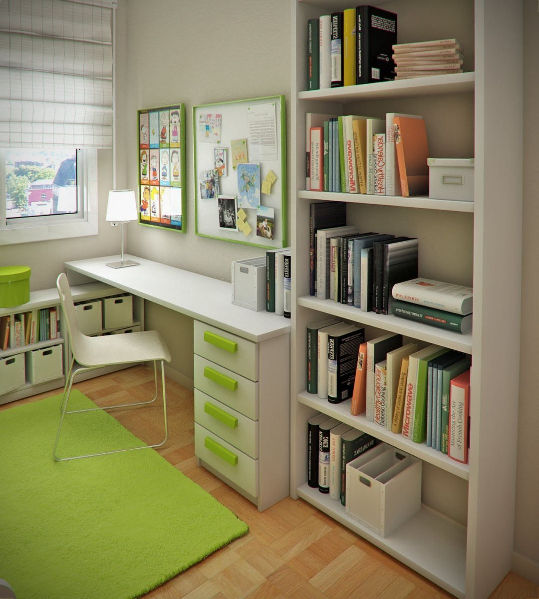 Unordinary space saving design ideas for small kids rooms 12