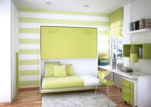Unordinary space saving design ideas for small kids rooms 31