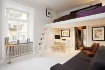 Unordinary space saving design ideas for small kids rooms 33