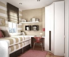 Unordinary space saving design ideas for small kids rooms 35