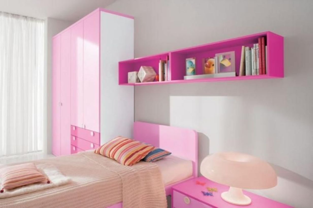 Unordinary space saving design ideas for small kids rooms 39