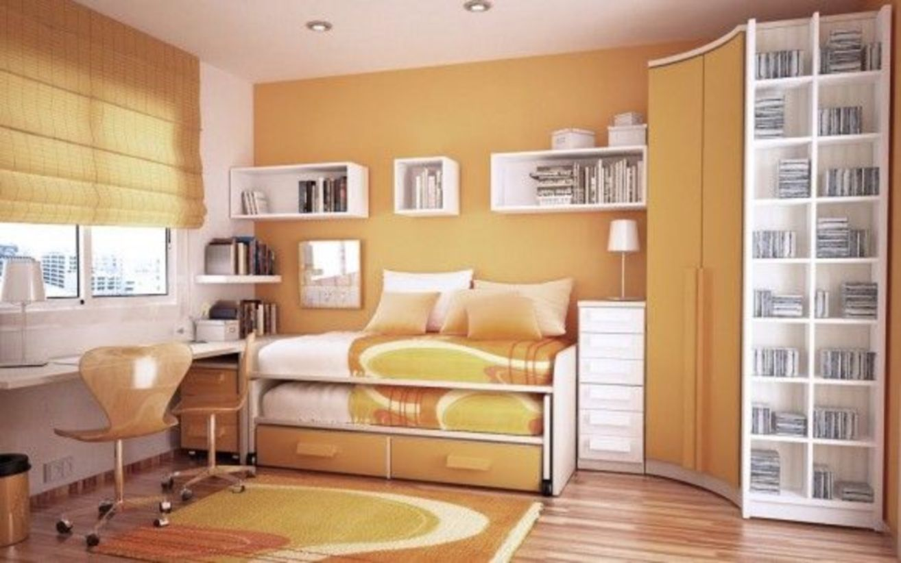 Unordinary space saving design ideas for small kids rooms 40