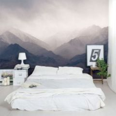 Modern faux brick wall art design decorating ideas for your bedroom 01