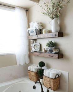 Simple bathroom storage ideas 20