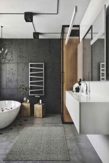 Affordable bathroom design ideas for apartment 01