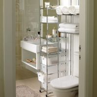 Affordable bathroom design ideas for apartment 07