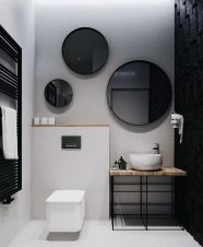 Affordable bathroom design ideas for apartment 10