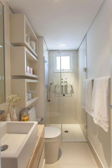 Affordable bathroom design ideas for apartment 19