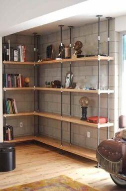 Affordable bookshelves ideas for 2019 07