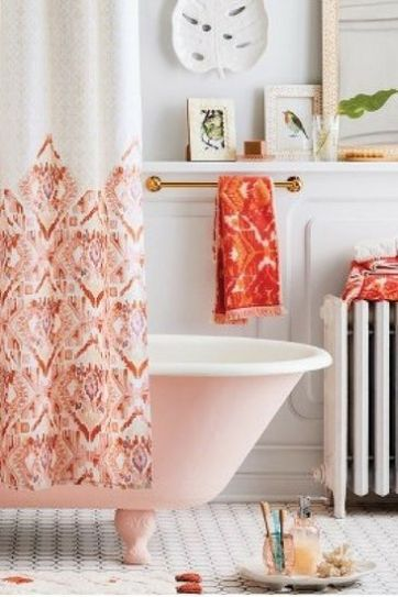 Amazing bathroom curtain ideas for 2019 04