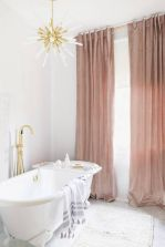 Amazing bathroom curtain ideas for 2019 15
