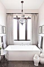 Amazing bathroom curtain ideas for 2019 17