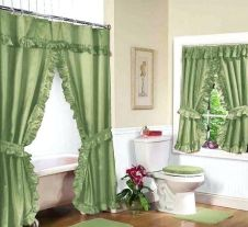 Amazing bathroom curtain ideas for 2019 19