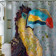 Amazing bathroom curtain ideas for 2019 23