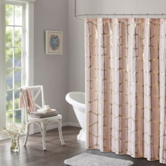 Amazing bathroom curtain ideas for 2019 32