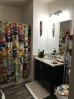 Amazing bathroom curtain ideas for 2019 38