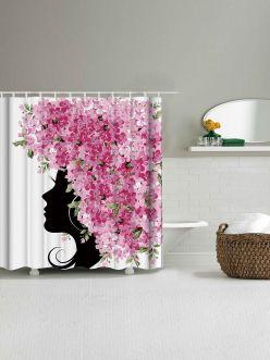 Amazing bathroom curtain ideas for 2019 44