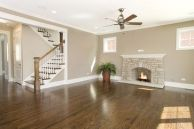 Awesome big living room design ideas with stairs 03