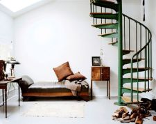 Awesome big living room design ideas with stairs 46