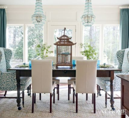 Comfy formal table centerpieces decorating ideas for dining room 01