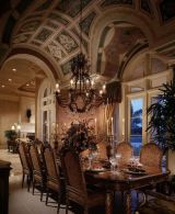 Comfy formal table centerpieces decorating ideas for dining room 15