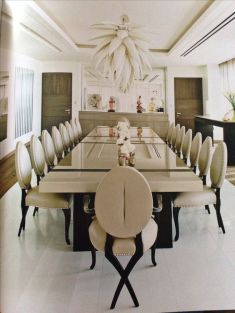 Comfy formal table centerpieces decorating ideas for dining room 32