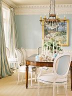 Comfy formal table centerpieces decorating ideas for dining room 40
