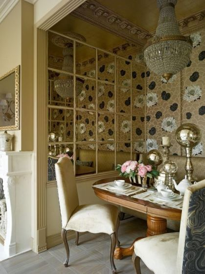 Comfy formal table centerpieces decorating ideas for dining room 46