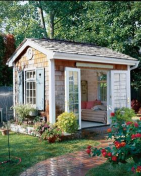 Cool small gardening ideas for tiny house 28