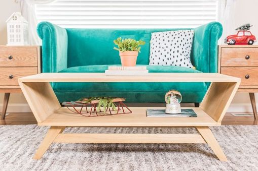 Creative coffee table design ideas for living room 13