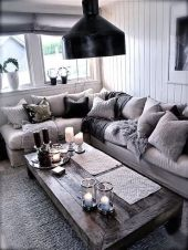 Creative coffee table design ideas for living room 25