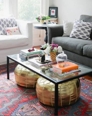 Creative coffee table design ideas for living room 33