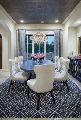 Cute dining room rug decorating ideas 02