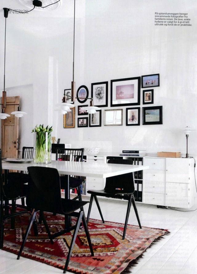 Cute dining room rug decorating ideas 20