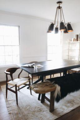 Cute dining room rug decorating ideas 31