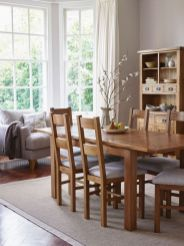Cute dining room rug decorating ideas 36