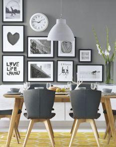 Cute dining room rug decorating ideas 49