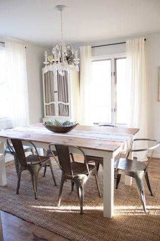 Cute dining room rug decorating ideas 52