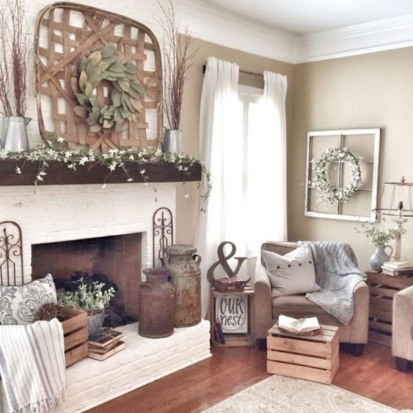 51 Cute French Style Living Room For New Home Style