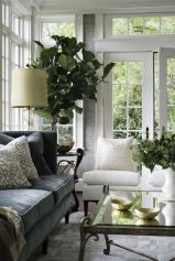 Cute french style living room for new home style 14